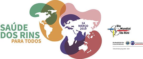 Dia Mundial do Rim 2019 - Saúde dos Rins. Apoio Sociedade Mineira de Nefrologia